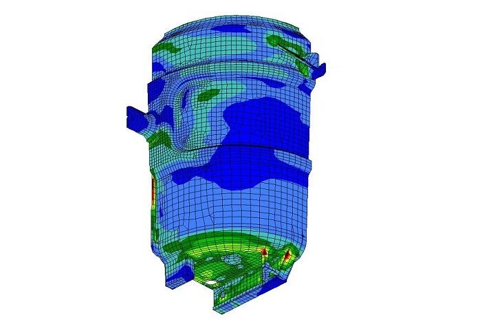 Stahlgießpfannen und -Komponenten